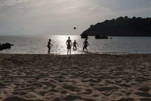 Tramonto a Gaeta Spiaggia dell'Ariana - Visti Gaeta