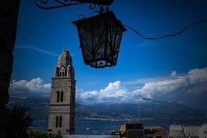 Serapo bb Gaeta | Campanile di Gaeta al centro Medievale